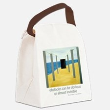 Barriers Canvas Lunch Bag