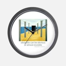 Barriers Wall Clock