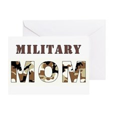MILITARY MOM Greeting Cards