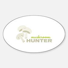 Mushroom Hunter Decal
