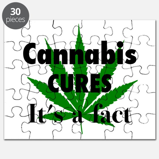 Cannabis Cures Its A Fact Puzzle