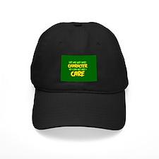 Like I Care Green-Gold Baseball Hat