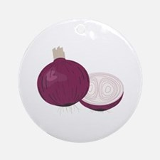Red Onions Ornament (Round)