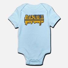 MKE Skyline Drip Yellow Body Suit