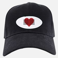 I Love You in Binary Code Baseball Hat