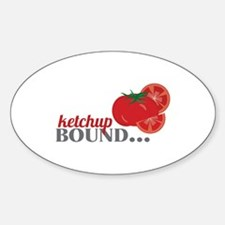 Ketchup Bound Tomato Decal