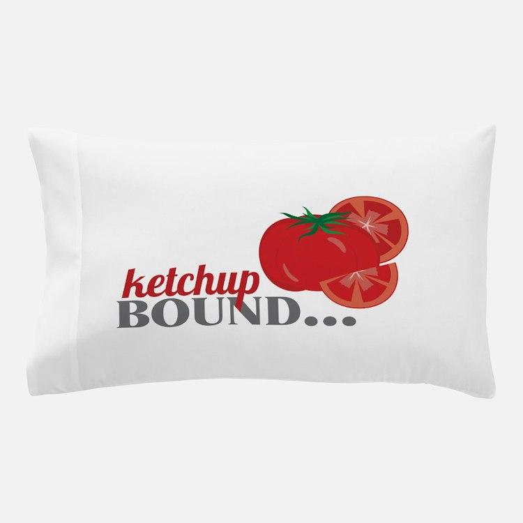 Ketchup Bound Tomato Pillow Case