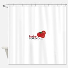 Ketchup Bound Tomato Shower Curtain