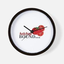 Ketchup Bound Tomato Wall Clock