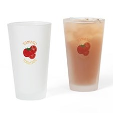 Tomato Tomatoe Drinking Glass