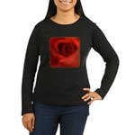 ROSE Women's Long Sleeve Dark T-Shirt