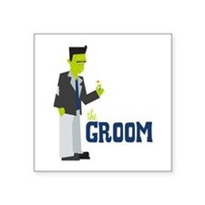 Groom Sticker