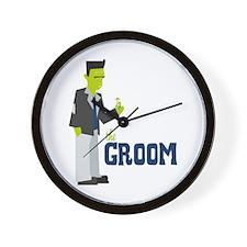 Groom Wall Clock