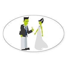 Frankenstein & Bride Decal