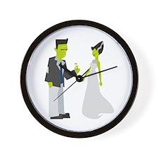 Frankenstein & Bride Wall Clock