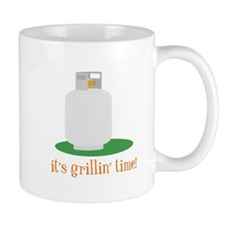 Its Grillin Time Mugs
