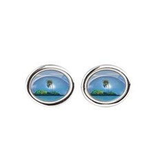 our Nature Oval Cufflinks