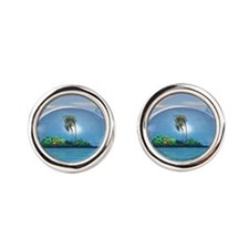 our Nature Round Cufflinks