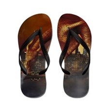 Dragon Attack Flip Flops