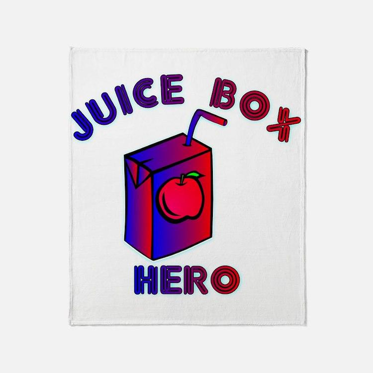 Juice Box Hero Throw Blanket