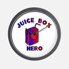 Juice Box Hero Wall Clock
