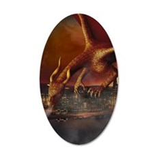 Dragon Attack Wall Decal