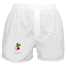 So Radish Boxer Shorts