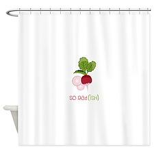 So Radish Shower Curtain