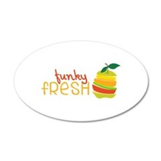 Funky Fresh Wall Decal