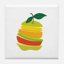 Fruit Slices Tile Coaster