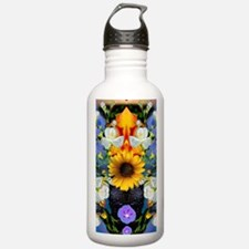 Funny Yellow sunflowers Water Bottle