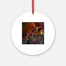 Dragon Attack Ornament (Round)