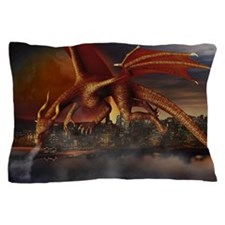 Dragon Attack Pillow Case