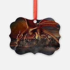 Dragon Attack Ornament