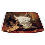 Vintage kittens Memory Foam Bathmats