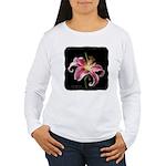 Stargazer Lily Women's Long Sleeve T-Shirt