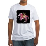 Stargazer Lily Fitted T-Shirt