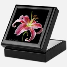 Stargazer Lily Keepsake Box