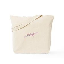 Cheerleader Baton Tote Bag