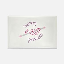 Twirling Princess Baton Magnets