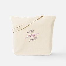 Twirling Princess Baton Tote Bag