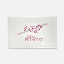 Baton Princess Magnets
