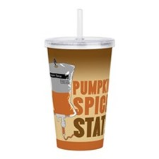IV Pumpkin Spice Stat Acrylic Double-wall Tumbler