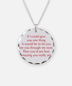 if-I-could-give-you-one-thing-opt-red Necklace