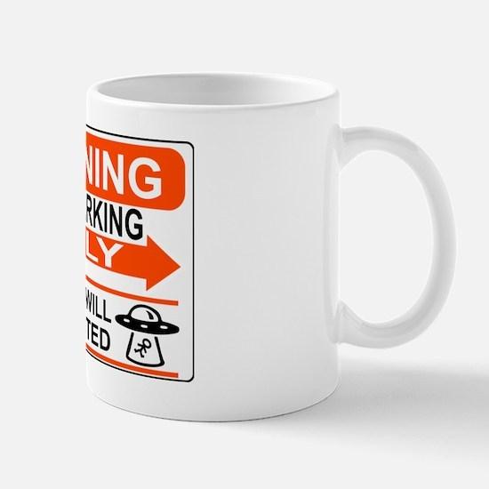 UFO Parking Mug