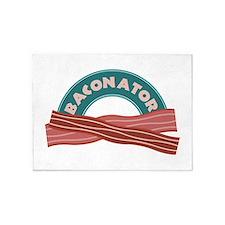 Baconator 5'x7'Area Rug