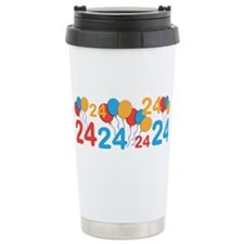 24 years old - 24th Birthday Travel Mug