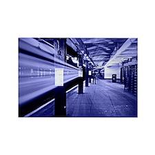 Subway Blues Magnets