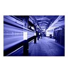 Subway Blues Postcards (Package of 8)