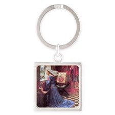 Waterhouse: Fair Rosamund Square Keychain